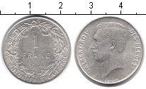 Изображение Монеты Бельгия 1 франк 1914 Серебро XF
