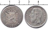 Изображение Монеты Бельгия 1 франк 1887 Серебро XF