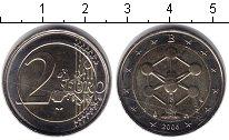 Изображение Монеты Бельгия 2 евро 2006 Биметалл XF Атомиум