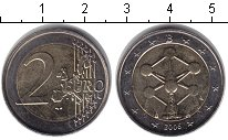Изображение Монеты Бельгия 2 евро 2006 Биметалл XF