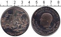 Изображение Монеты Тунис 1 динар 1969 Серебро UNC- Ганнибал