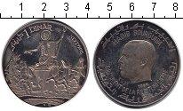 Изображение Монеты Тунис 1 динар 1969 Серебро UNC- Нептун