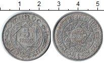 Изображение Монеты Марокко 5 франков 1370 Алюминий VF