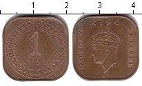Изображение Монеты Малайя 1 цент 1945 Медь XF