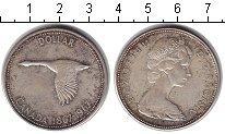 Изображение Монеты Канада 1 доллар 1967 Серебро VF 100 лет Конфедерации