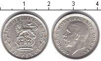 Изображение Монеты Великобритания 6 пенсов 1926 Серебро XF Георг V