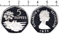 Изображение Монеты Сейшелы Сейшелы 1974 Серебро Proof