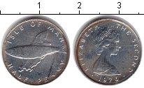 Изображение Монеты Остров Мэн 1/2 пенни 1976 Серебро XF