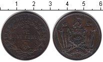 Изображение Монеты Великобритания Борнео 1 цент 1887 Медь VF
