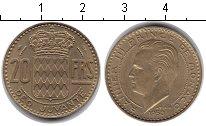 Изображение Монеты Монако 20 франков 1950  XF