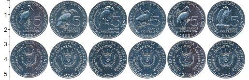 Изображение Наборы монет Бурунди Бурунди 2014 2014 Алюминий UNC- В наборе 6 монет ном