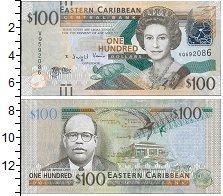 Изображение Боны Карибы 100 долларов 0  UNC-