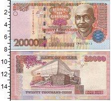 Изображение Банкноты Гана 20000 седи 0  UNC-