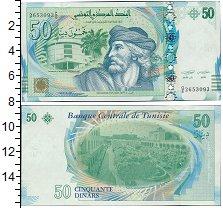 Изображение Банкноты Тунис 50 динар 2011  UNC-