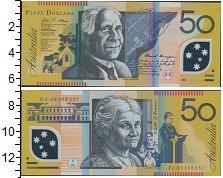 Изображение Боны Австралия 50 долларов 0  UNC-