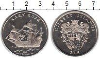 Изображение Мелочь Кирибати 1 доллар 2015 Медно-никель UNC- Парусник Мэри Роза.Г