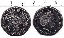 Изображение Мелочь Великобритания Фолклендские острова 50 пенсов 2007 Медно-никель UNC