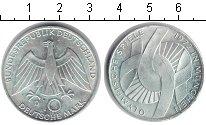 Изображение Монеты ФРГ 10 марок 1972 Серебро XF Олимпиада 1972 в Мюн