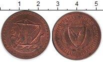 Изображение Монеты Кипр 5 милс 1963 Медь XF