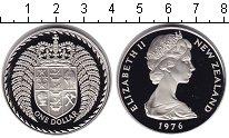 Изображение Монеты Новая Зеландия 1 доллар 1976 Медно-никель UNC