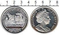 Изображение Монеты Великобритания Остров Мэн 1 крона 2005 Серебро Proof-