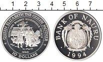 Изображение Монеты Науру 10 долларов 1994 Серебро Proof-