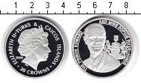 Изображение Монеты Теркc и Кайкос 20 крон 1999 Серебро Proof-