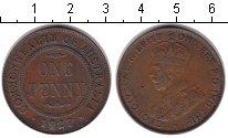 Изображение Монеты Австралия 1 пенни 1927 Медь XF Георг V