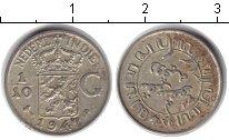 Изображение Монеты Нидерландская Индия 1/10 гульдена 1942 Серебро XF