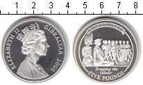 Изображение Монеты Гибралтар 5 фунтов 2005 Серебро