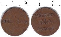 Изображение Монеты Мюнстер 1 пфенниг 0 Медь