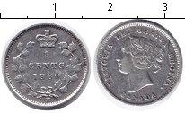 Изображение Монеты Канада 5 центов 1880 Серебро VF