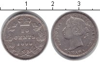 Изображение Монеты Канада 10 центов 1898 Серебро VF Виктория
