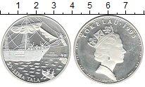 Токелау 5 тала 1993 Серебро