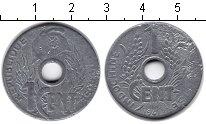 Изображение Монеты Индокитай 1 цент 1941 Цинк VF