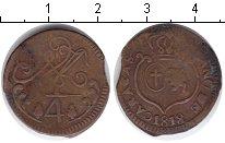 Изображение Монеты Венесуэла 1/4 реала 1818 Медь