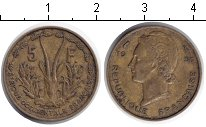 Изображение Монеты Французская Африка 5 франков 1956  XF ,