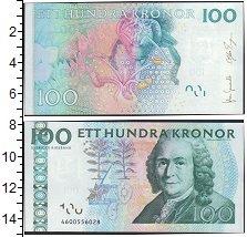Изображение Боны Швеция 100 крон 0  UNC-