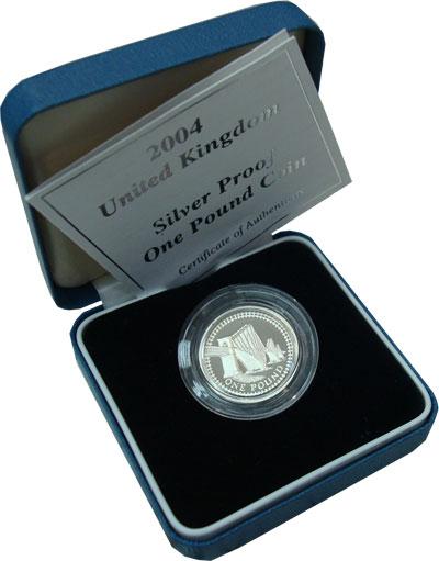 Изображение Подарочные наборы Великобритания Мост 2004 Серебро