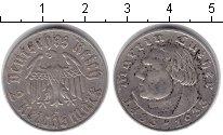 Изображение Монеты Третий Рейх 2 марки 1933 Серебро XF Мартин Лютер