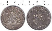 Изображение Монеты Анхальт 1 талер 1858 Серебро XF Леопольд Фридрих