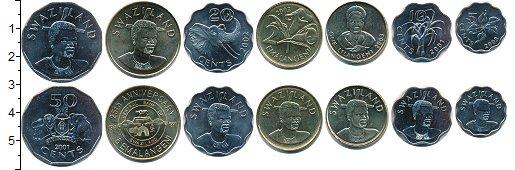 Изображение Наборы монет Свазиленд Свазиленд 1999-2007 0  UNC-
