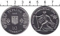 Изображение Монеты Україна 10 гривен 1998 Серебро Proof-