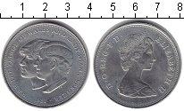 Изображение Монеты Великобритания 25 пенсов 1981 Медно-никель XF Принц Уельский