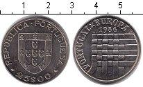 Изображение Монеты Португалия 25 эскудо 1986 Медно-никель XF