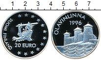 Изображение Монеты Финляндия 20 евро 1996 Серебро UNC-