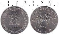 Изображение Монеты Южная Корея 1000 вон 1982 Медно-никель