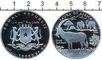 Изображение Монеты Сомали 10000 шиллингов 1998 Серебро Proof