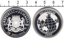 Изображение Монеты Сомали 150 шиллингов 2000 Серебро Proof-