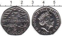Изображение Мелочь Великобритания 50 пенсов 2015 Медно-никель XF
